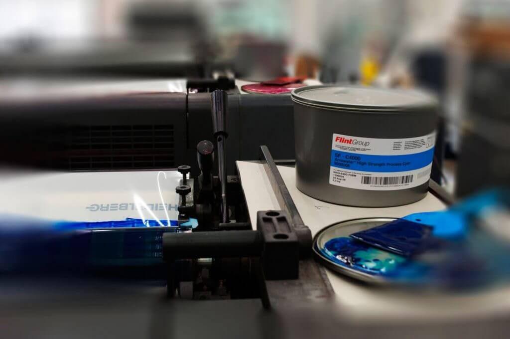 Encre offset pour imprimer
