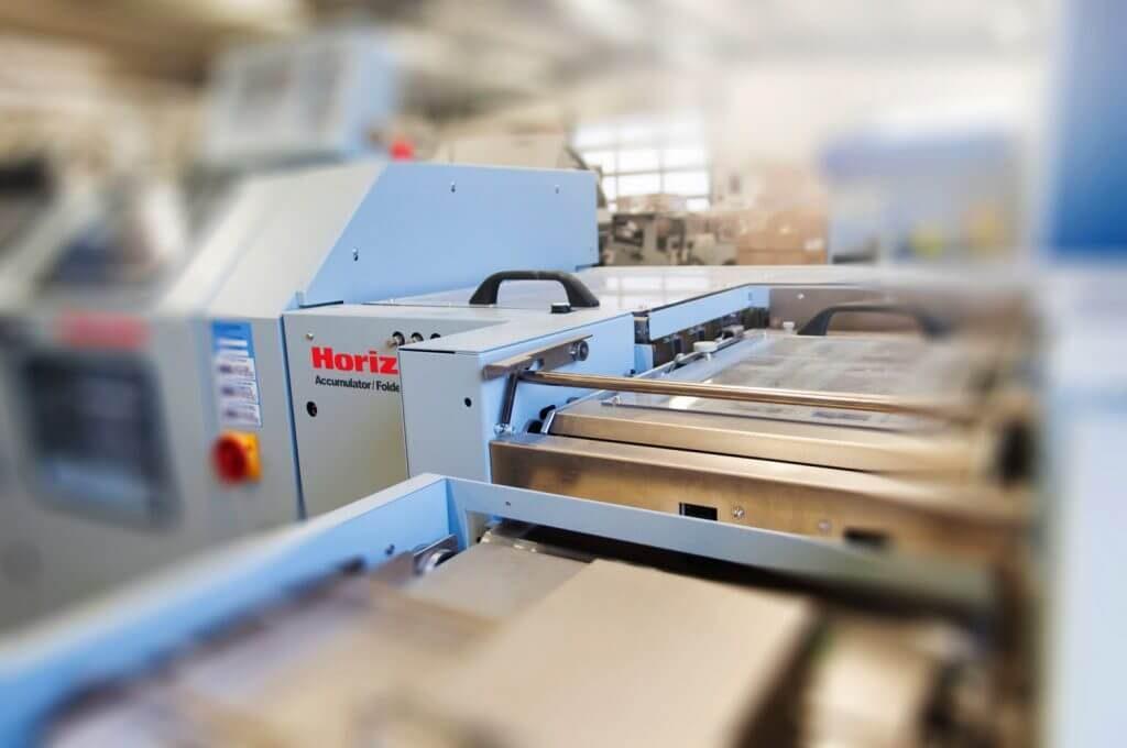 Machine Horizon pour la finition et le façonnage