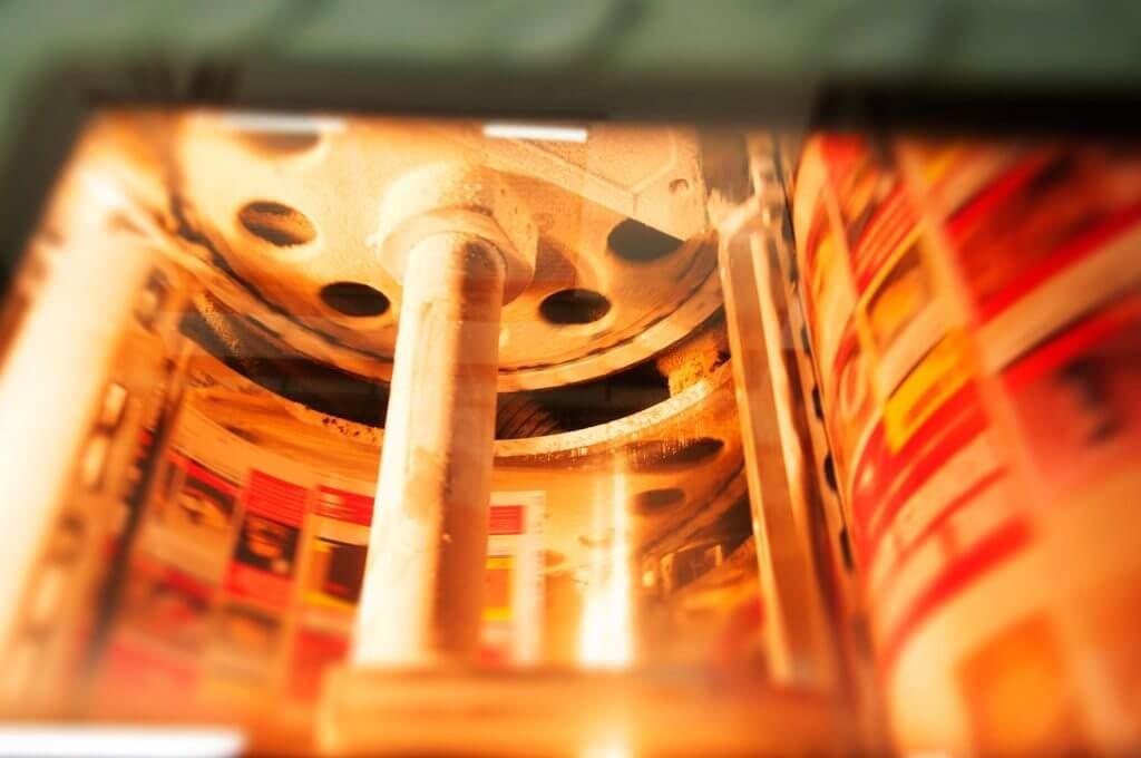 Presse cylindrique pour imprimeur offset