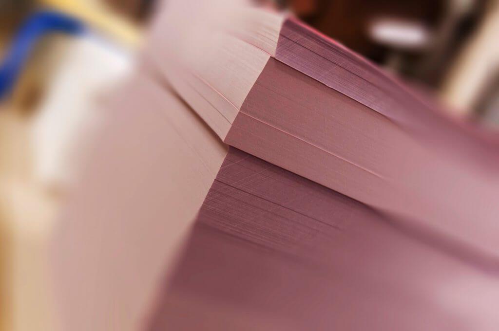 Rame de papier pour l'impression offset