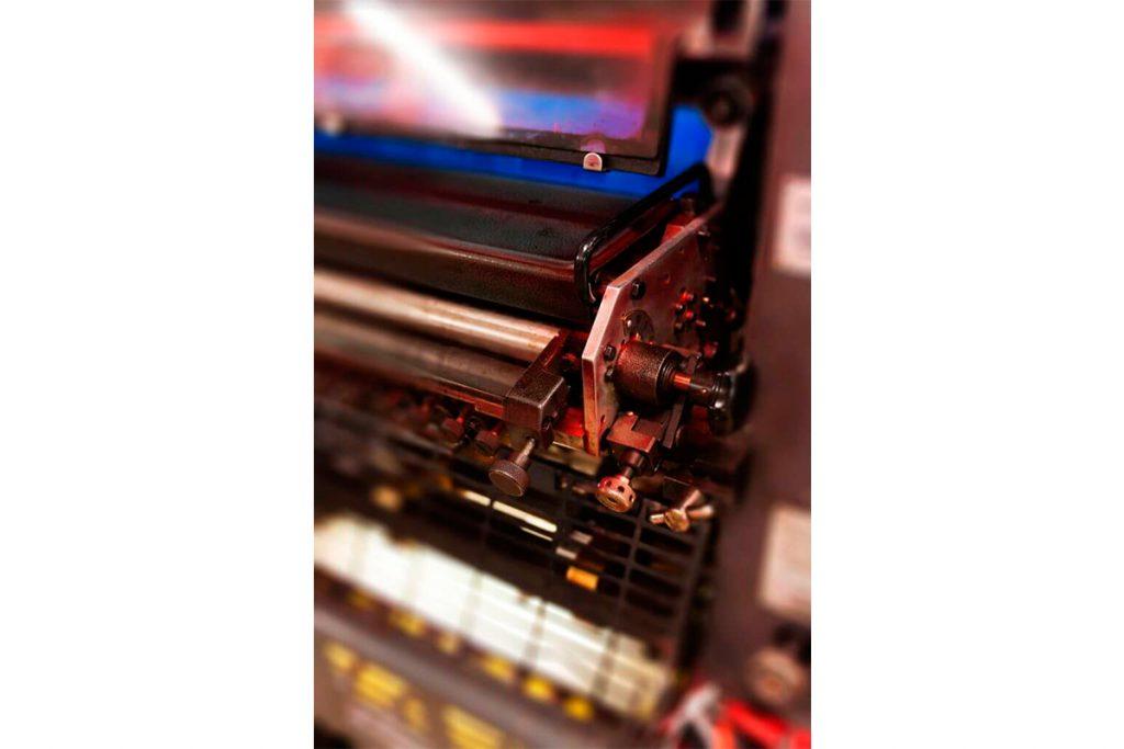 Rouleau d'une presse offset