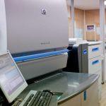Salle d'impression numérique de l'imprimeur Anquetil