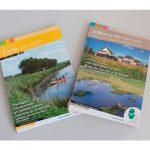 Impression de la carte de randonnées du Parc du Cotentin