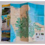 Carte touristique imprimée par Anquetil