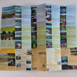 Carte touristique dépliée