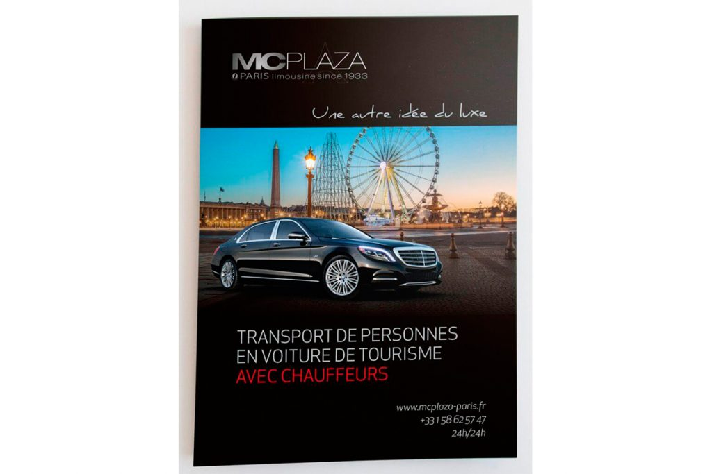 Impresion d'un flyer MC Plaza
