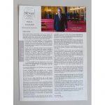 Couverture d'une lettre d'information