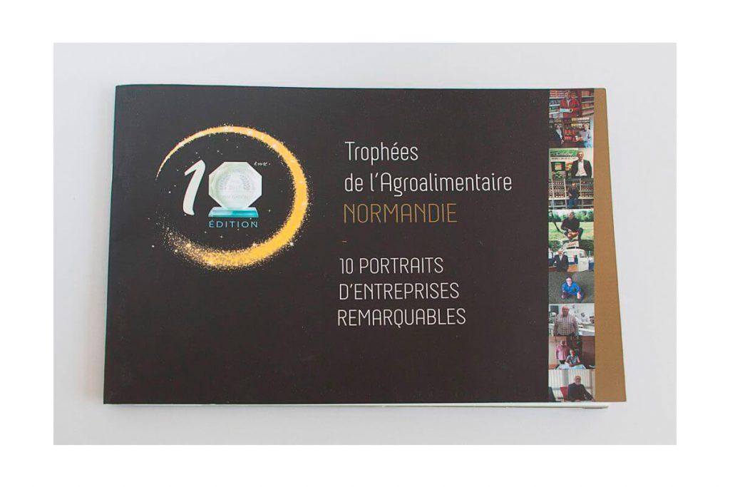Paquette des Trophées de l'Agroalimentaire en Normandie